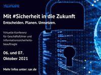Mit Sicherheit in die Zukunft - virtuelle Konferenz zum Thema Unternehmenssicherheit bei KMUs