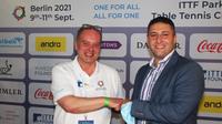 Horn & Görwitz unterstützt die ITTF Parkinson