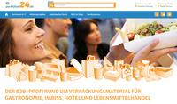 Pack4Food24.de - Der B2B Onlineshop für Gastronomie, Imbiss, Hotel & Lebensmittelhandel