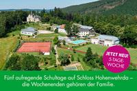 Lietz Internat Schloss Hohenwehrda bietet ab sofort 5-Tage-Woche