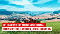 Urlaub in der Erlebnisregion Mittleres Fuldatal - Lebensfreude, Landluft, Lieblingsplatz