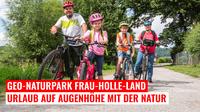 Urlaub im Geo-Naturpark Frau-Holle-Land - auf Augenhöhe mit der Natur