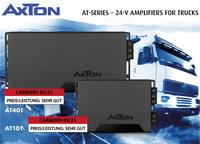 Stunning power performance - AXTON amplifiers for trucks