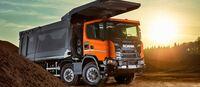 MINExpo 2021: Scania treibt den Wandel mit seinem 8x4 Schwerlastkipper voran