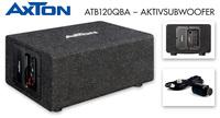 Pegelfest und dynamisch - AXTONs Aktivsubwoofer ATB120QBA