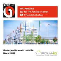 Poly-IQ GmbH & Technocom LLC gemeinsam auf der 27. Fakuma