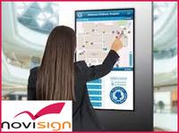 Professionelle Digitale Wegweiser mit NoviSign