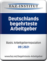 """service94 GmbH als """"begehrtester Arbeitgeber 2021"""" ausgezeichnet"""