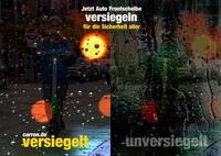 Anti-Rain Regenabweiser gegen Frontscheiben Mikrokratzer