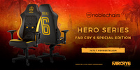 noblechairs HERO Far Cry 6 Special Edition - Dein Rückhalt im Guerillakrieg