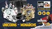 Wer gewinnt den German Bowl - Unicorns oder Monarchs ?