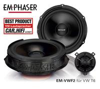 Best Product für den WW T6 - EMPHASERs Lautsprecher EM-VWF2