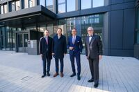 Bürokomplex SMART OFFICE in Düsseldorf   mit OB Keller eröffnet