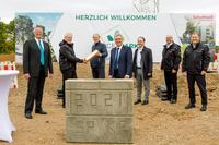 """Grundsteinlegung für das Quartier """"Krügelpark"""" in Stein"""
