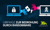 Hornetsecurity Umfrage: 1 von 5 Unternehmen war bereits Opfer eines Ransomware-Angriffs