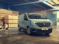 Weiterentwickelter Renault Trafic kommt in Großbritannien zum Verkauf