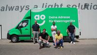 Elektrogeräte-Onlinehändler AO setzt jetzt auch in Deutschland auf Fraikin