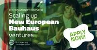 EIT Community Booster: Neue europäische Bauhaus-Initiative bietet Förderungen von Projekten und Startups