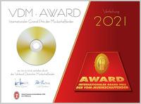 Die VDMplus-AWARDS 2021 für Musikschaffende wurden zum siebten Mal verliehen