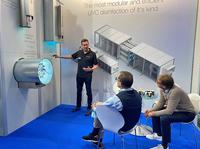 VIROBUSTER präsentierte auf Frankfurter Fachmesse seine UV-C-Geräte.