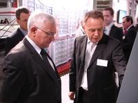 EU-Kommissar Dalli besucht Rowa auf der CeBIT