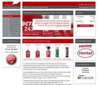 Neuer Online-Shop für loctite Schraubensicherungen