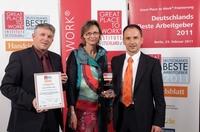 Tyczka Totalgaz erreicht Platz 16 unter den 100 besten Arbeitgebern Deutschlands