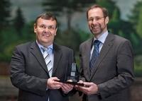 Rosskopf & Partner AG - Preis für christliche Führungskräfte 2011 geht  an Helmut Roßkopf und Martin Funck.
