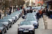 Cabrio Saisonstart als größtes reinrassiges Z3 Roadster Treffen