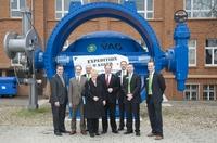 Bundesminister Dirk Niebel besucht das Mannheimer Stammhaus der VAG-Gruppe