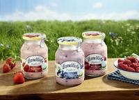 Bei Landliebe Fruchtjoghurt kommt der Geschmack aus der puren Frucht