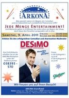 Comedian und Magier, in einem vereint, das ist Desimo...