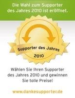 pcvisit sucht den Supporter des Jahres 2010