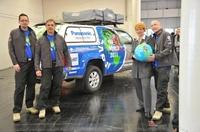 """Panasonic Toughbook unterstützt """"Move the World"""" Expedition von Joachim Franz"""
