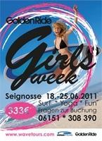 Golden Ride Girls Week in Frankreich und Surf, Sports & Health Week in Spanien