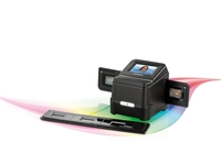 SOMIKON Mobiler Dia- & Negativ-Scanner mit Akku, SD-Slot & Touchscreen
