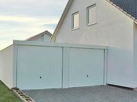 Garagenbau ist optimal für Gemeinden: Zwei Fertiggaragen für ein schöneres Schwimmbad