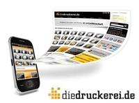 Vorreiter Onlineprinters GmbH eröffnet ersten mobilen Onlineshop für Drucksachen