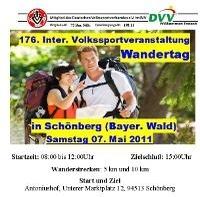 IVV Volkswandertag im Bayerischen Wald