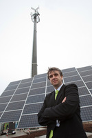 E-Plus funkt grün: Erste klimaneutrale Sendestation Europas geht in Betrieb