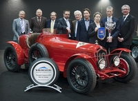 "TECHNO CLASSICA 2011:  Concours d""Elegance ""Best of Show"" Siegerehrung"