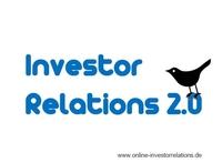 Blog zu Social Media in den Investor Relations gestartet