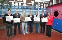 DRIFT überreicht 10.000,00 Euro für Projekte im Norden