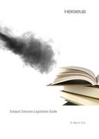 Broschüre zur Abgasgesetzgebung von Heraeus aktualisiert