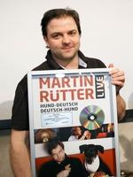 """Platin für Martin Rütters Live-DVD """"Hund-Deutsch/Deutsch-Hund""""!"""