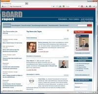 Webdesign Frankfurt: formativ entwickelt Datenbank gestütztes Redaktionssystem für das Personalfachmagazin BoardReport auf Basis von Joomla, PHP und MySQL