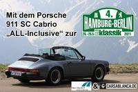 Carsablanca.de und Toll Collect verlosen letzten Startplatz bei der Oldtimer-Rallye Hamburg-Berlin-Klassik