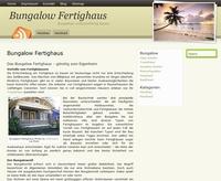 Suche nach geeignetem Bungalow Fertighaus