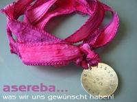 Asereba-Charms mit individuellem Wunschtext zum Muttertag