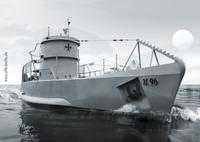 Berlins einzigartiges U-Boot auf Promotion-Tour